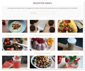 recepten index