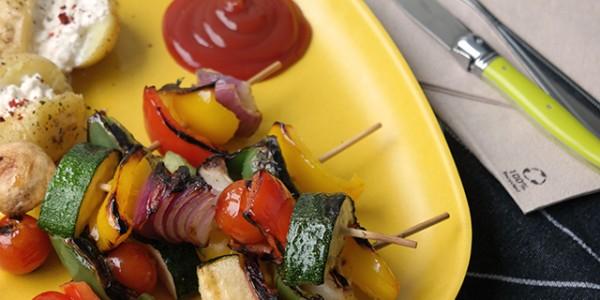 vegetarisch barbecuen