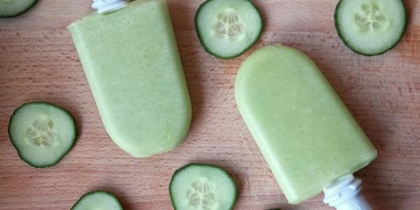 komkommer-limoen ijsjes recept