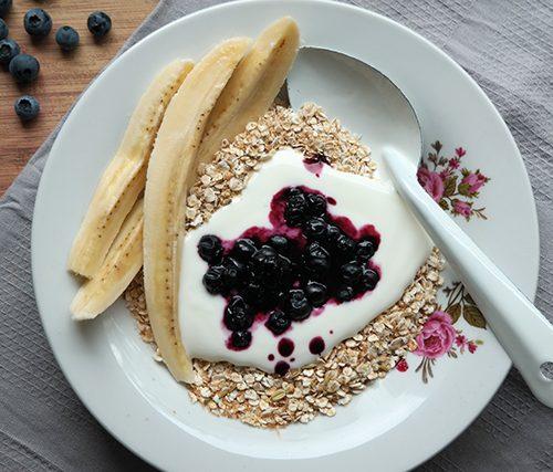 snel en gezond ontbijten