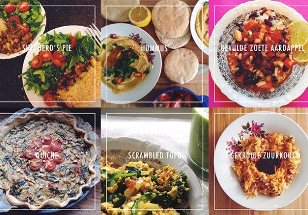 De 6 lekkerste vegan gerechten