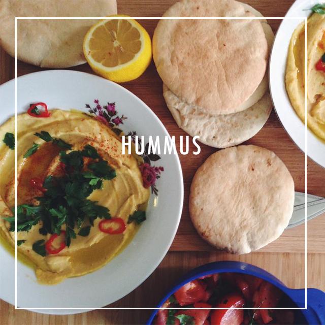 vegan gerechten hummus