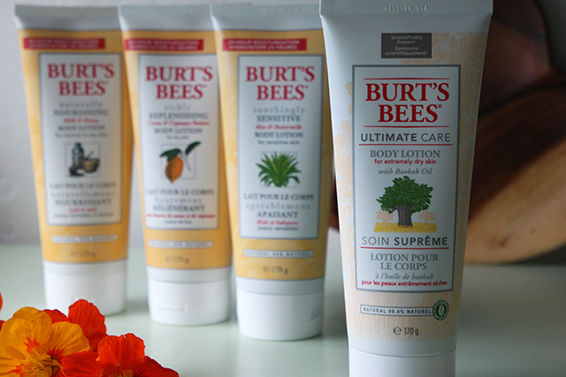 Burt's Bees bodylotions