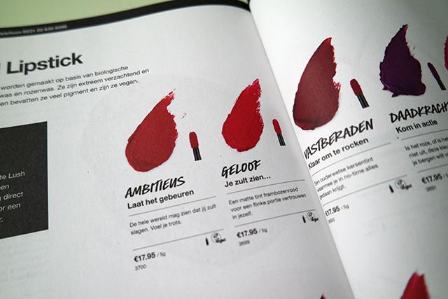 Lush liquid lipstick elegant