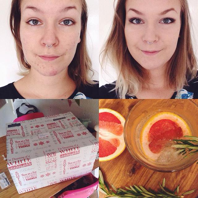 makeup voor en na