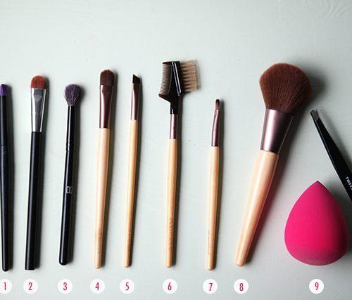 make-up kwasten basisset