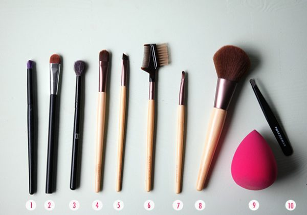make-up kwasten basisset