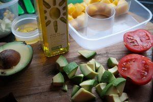 Salades maken voor de HEMA lunchbox