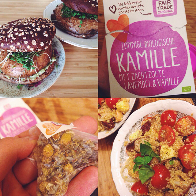 fair trade kamillethee