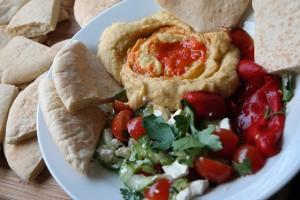 hummus als maaltijd