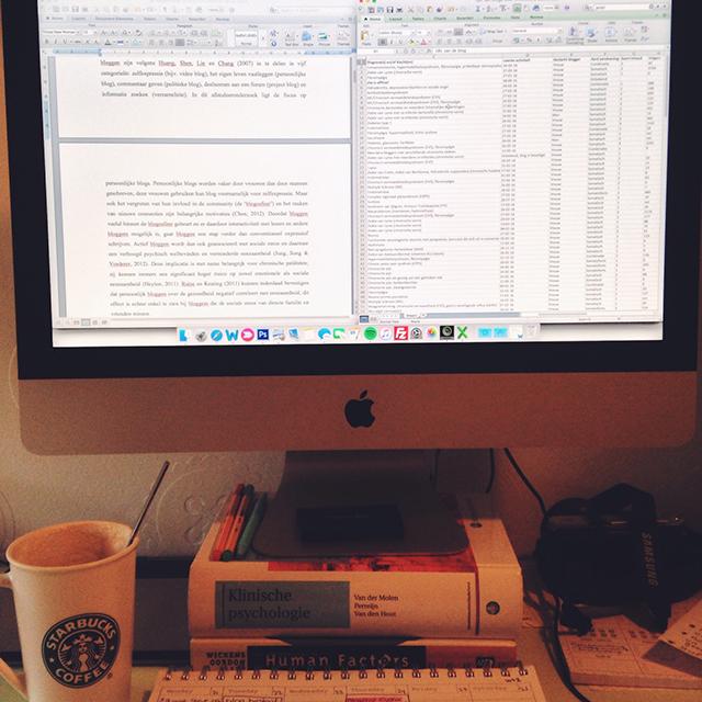 werken aan thesis