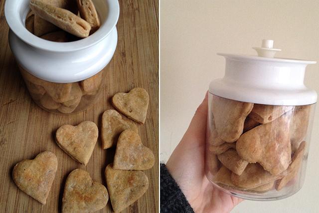 zelf honden koekjes maken