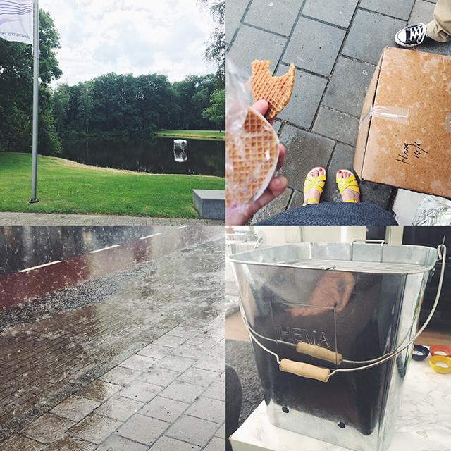 regen en stroopwafels