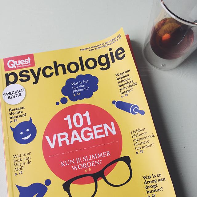 psychologie tijdschrift van Quest