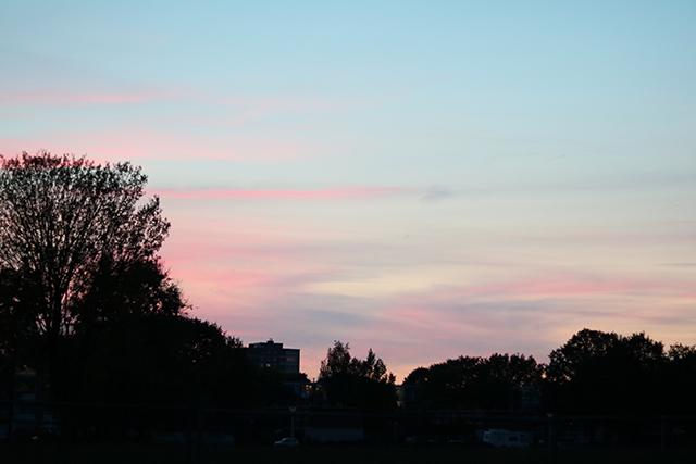 donderdag lucht
