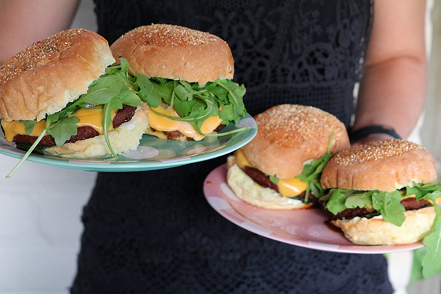 donderdag vegetarische hamburgers