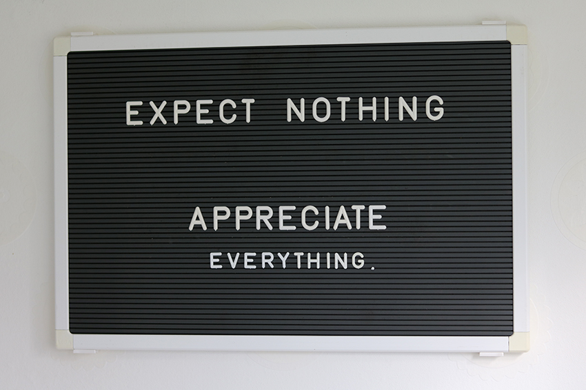 expect-nothing