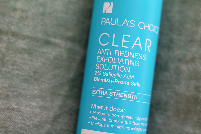 paula's choice clear exfoliant