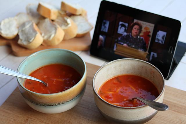 woensdag chinese tomatensoep