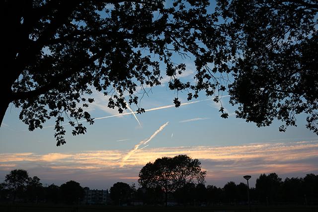 woensdag mooie lucht