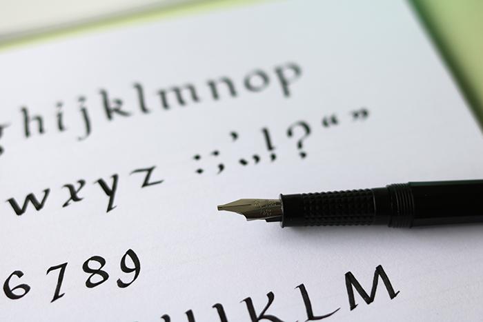 zondag-kalligraferen
