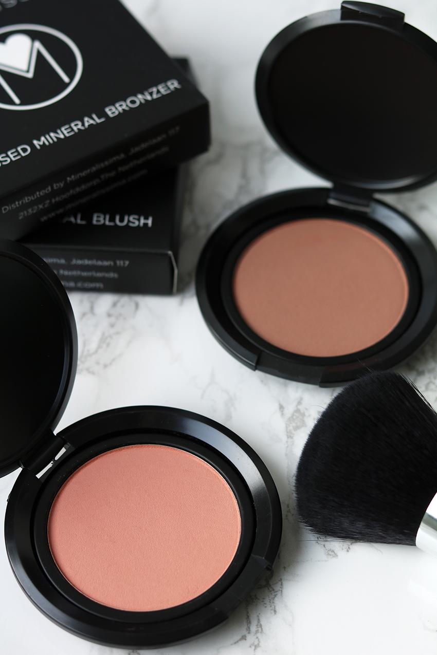 Mineral bronzer en blush