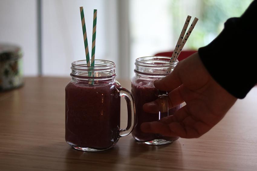 smoothies-met-bosbessen