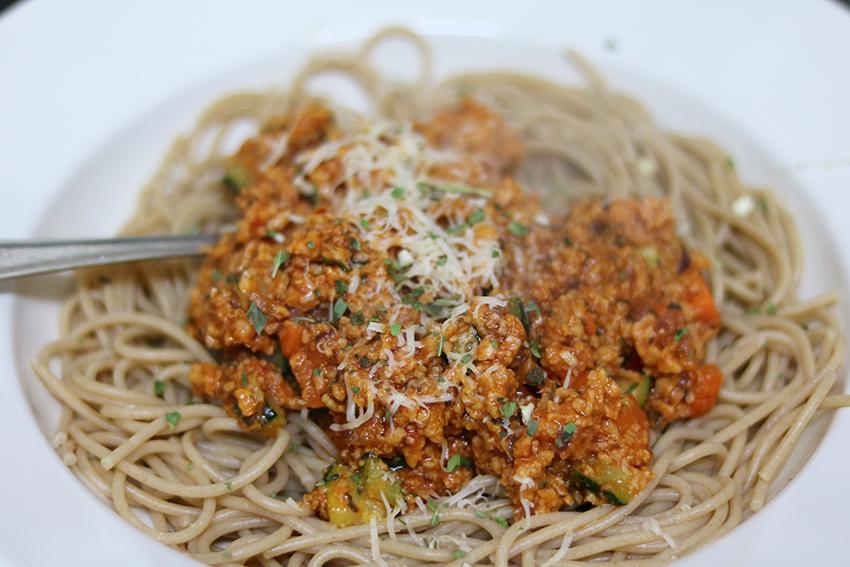 vegetarische-spaghetti-bolognese