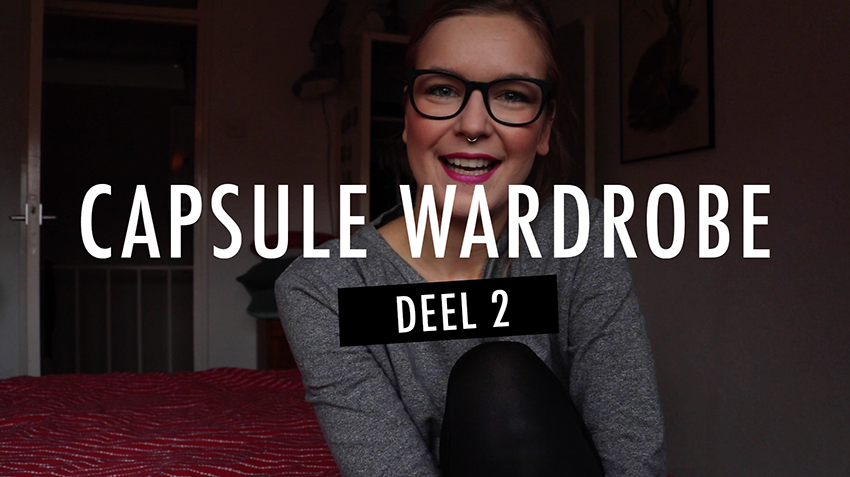 Capsule wardrobe video voor Patreon