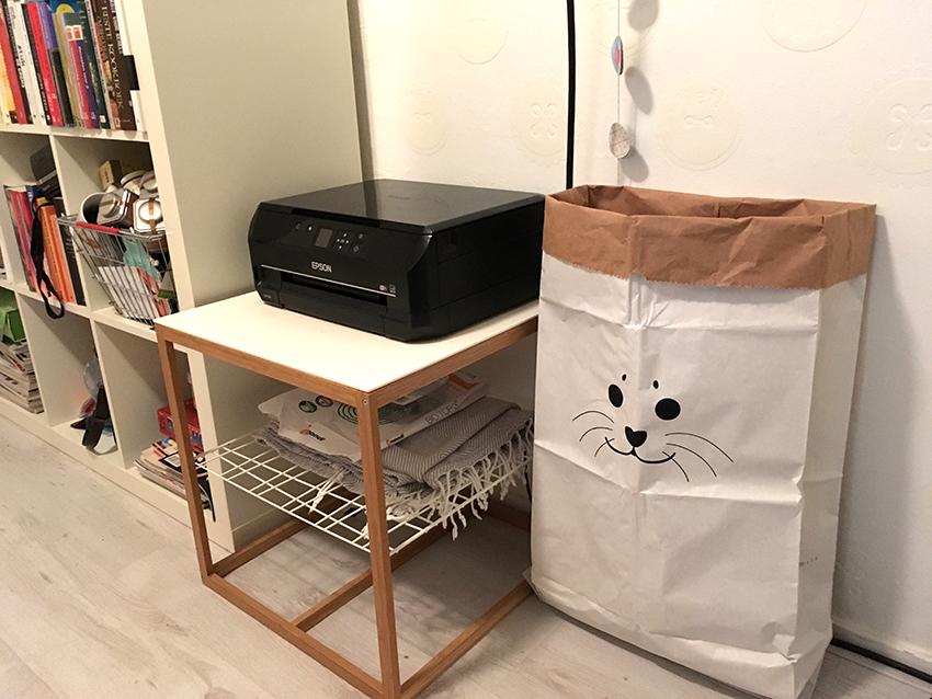 zeehond papieren zak