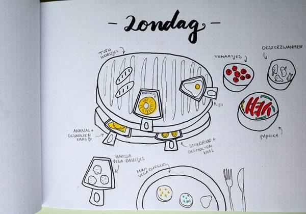 Zondag - Gourmetten