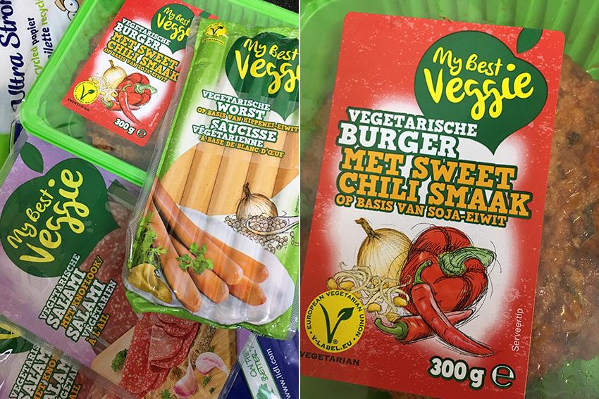 vegetarische producten bij Lidl