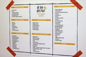 voorraadkast organiseren - gratis checklist