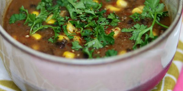 Recept: Zwarte-bonensoep