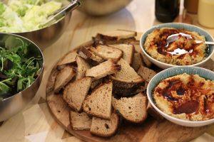 brood met hummus foodstyling