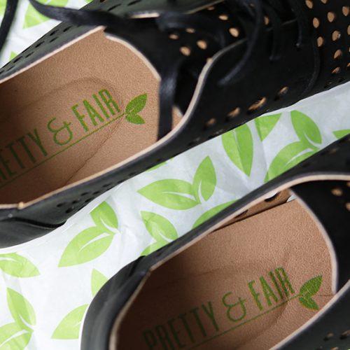 Win vegan schoenen van het merk Pretty & Fair!