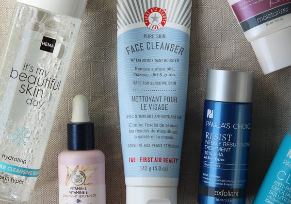 Mijn complete huidverzorgingsroutine tegen acne