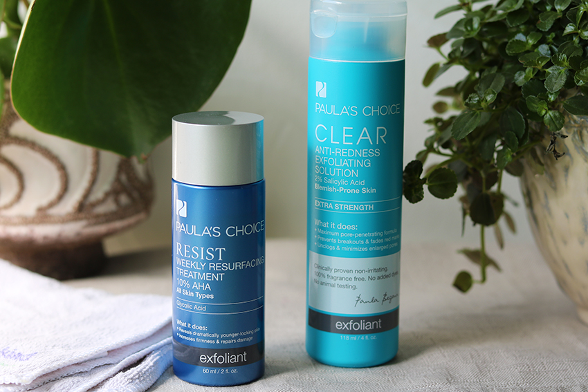 Huidverzorgingsroutine tegen acne: exfolieren