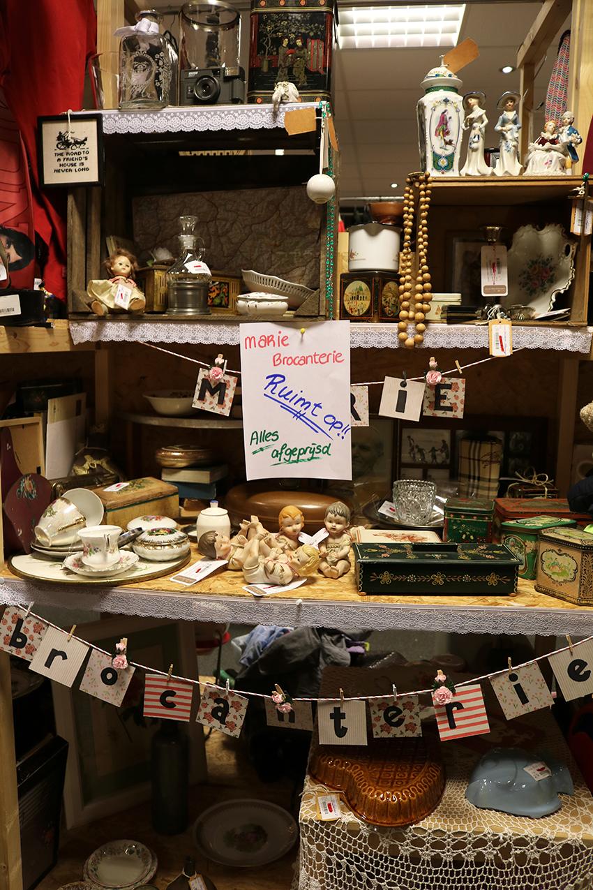 Marie Brocanterie bij Jouw Marktkraam