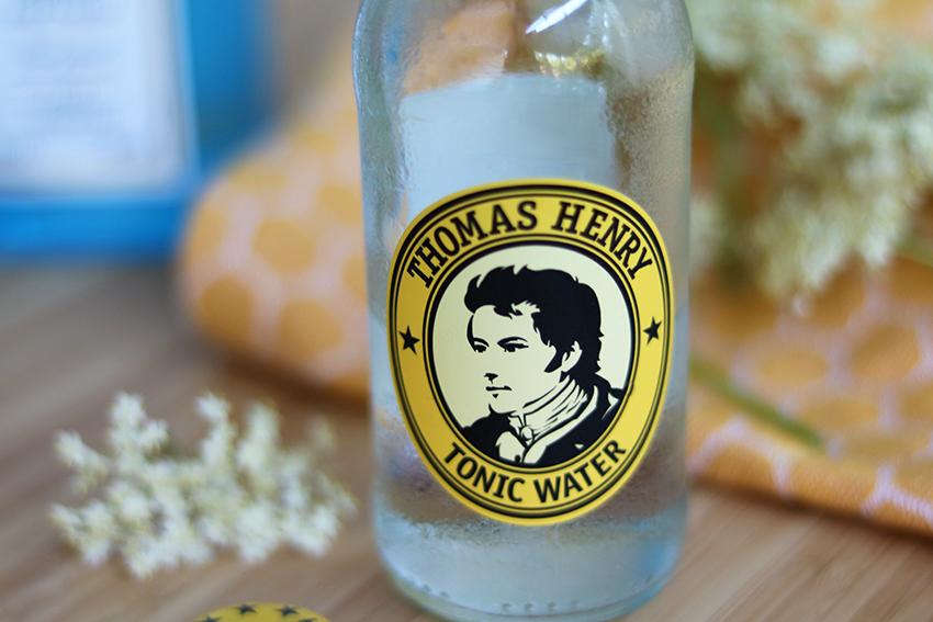 gin-tonic met vlierbloesem recept