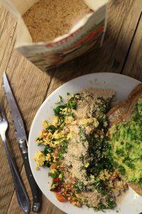 Recept: Scrambled tofu met kala namak