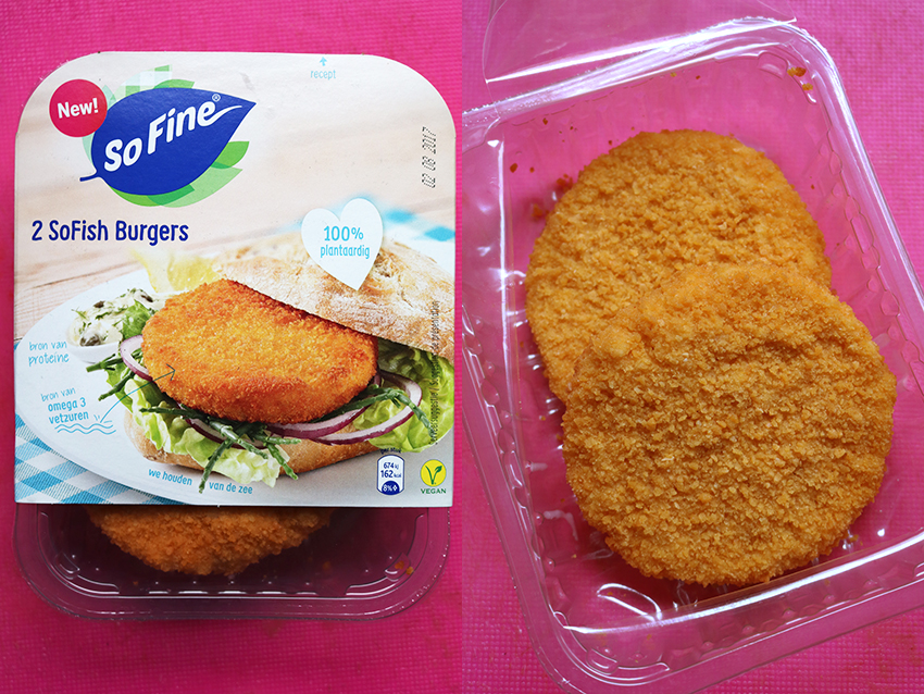 Vegetarische visvervangers - SoFine fish burgers