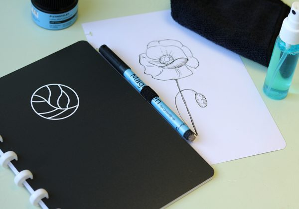 Uitwisbaar notitieboek