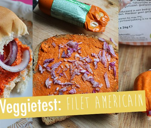 Veggietest: Vegetarische filet americain
