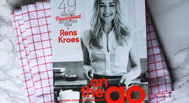 Rens Kroes kookboek On The Go