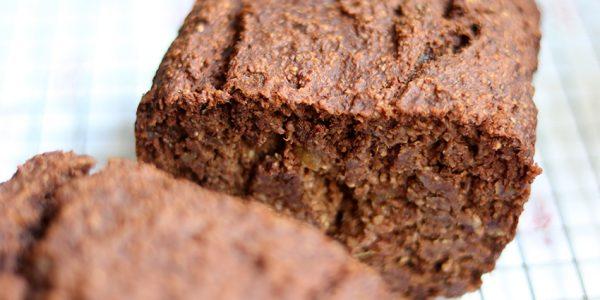 Recept: chocolade-bananenbrood van Rens Kroes