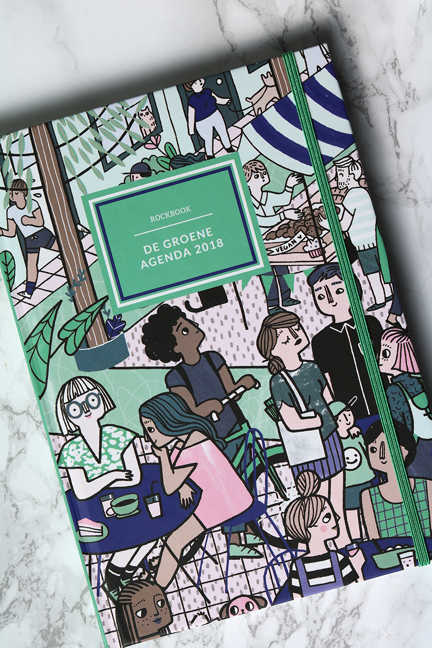 de groene meisjes agenda en doeboekjes