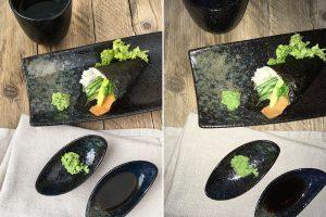 mooie foto's van eten maken zonder flits