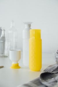 dopper gele fles