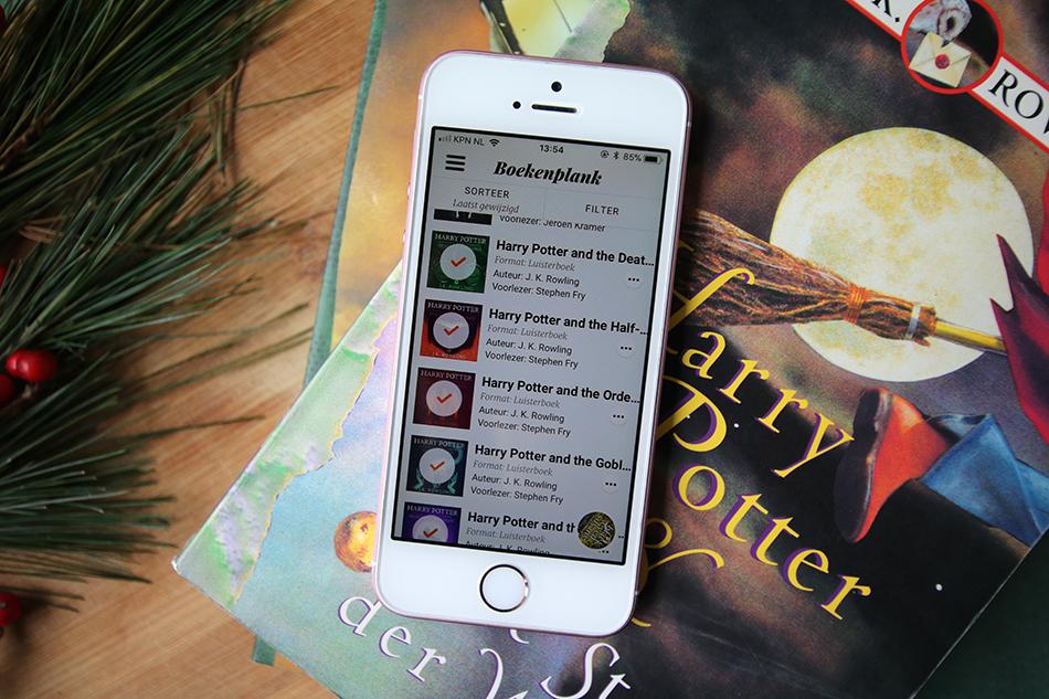 Harry Potter luisterboeken op Storytel